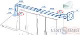 Соединитель плоского воздуховода с круглым (несимметричный) ПЛАСТИВЕНТ, фото 4
