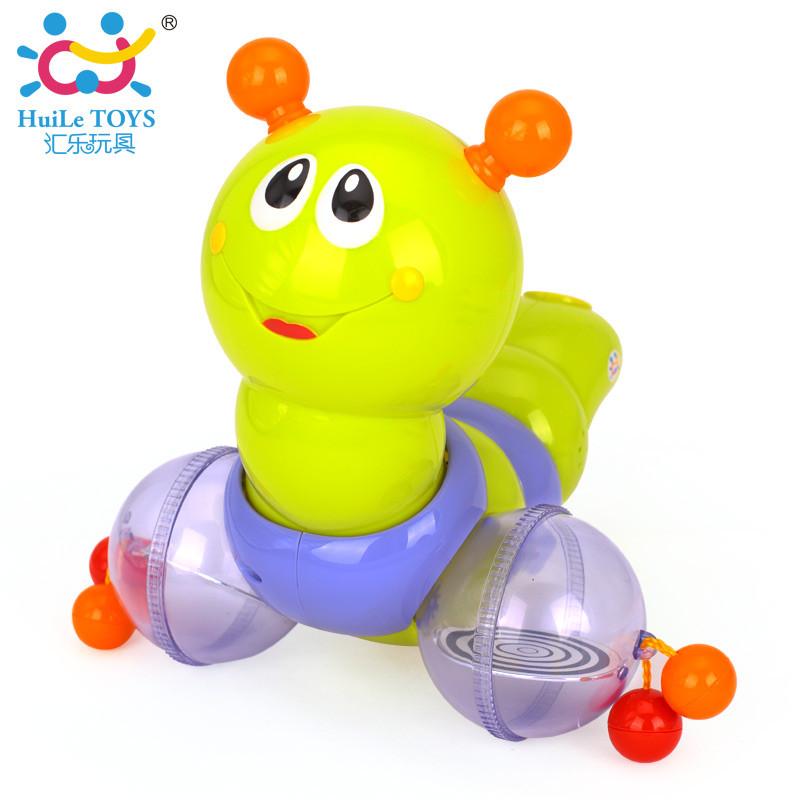 """Игрушка-каталка Huile Toys """"Гусеничка"""""""