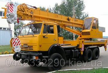 """Автокран  (КС-55735-3 """"Ивановец"""")"""