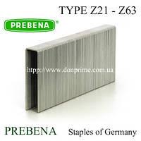 Скоба PREBENA Тип-Z для пневмостеплера