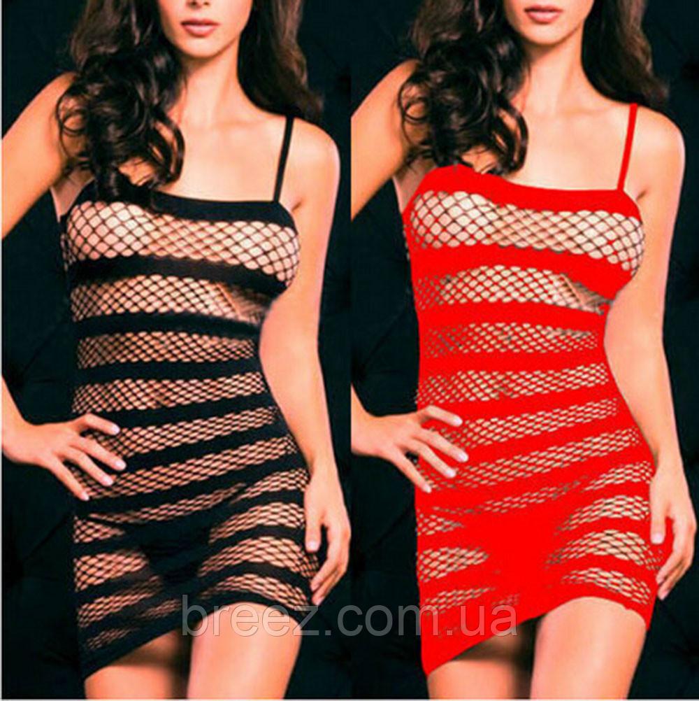 Эротическое белье. Эротическое платье - сетка Livia Corsetti (48 размер, размер L )