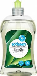 Органический ополаскиватель SODASAN для посудомоечной машины 0.5 л
