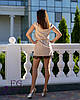 """Летнее элегантное женское платье """"Шерри"""" с кружевом и короткими рукавами черное, фото 5"""