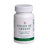 Витаминно-минеральный комплекс из ростков ячменя,пшеницы и люцерны--Филдз оф Гринз,80 таб.Форевер,США