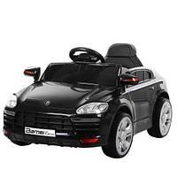 Детский электромобиль Порш Porsche M 3272EBLR-2 черный (красный, белый), музыка, свет, колеса EVA, MP3.