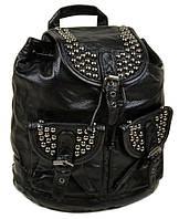 Большой кожаный женский рюкзак. Женская сумка девушкам. Сумка Портфель нетбук. ДР01