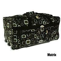 Дорожня сумка чемодан на Колесах A1 65см*36см*36см (середня)(88л) матрікс