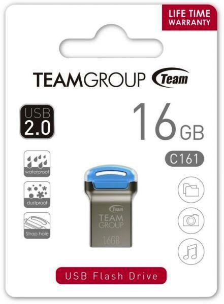 Флешка TEAM 16 GB C161 Blue