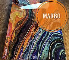 Оранжевый краситель пигмент для смол Марбо Marbo (Италия), 15 мл, концентриров.
