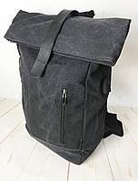 Рюкзак мужской Роллтоп. Дорожный, вместительный рюкзак. Сумка-рюкзак КСС65