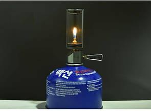 Газовая лампа-свеча BRS-55 туристическая  Лампа на газу. Туристична газова лампа-свічка.
