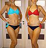 Купальник Gabbiano  двойной push up .  Раздельный купальник с пуш ап Бикини коралловый ( 50 размер размер L ) , фото 2