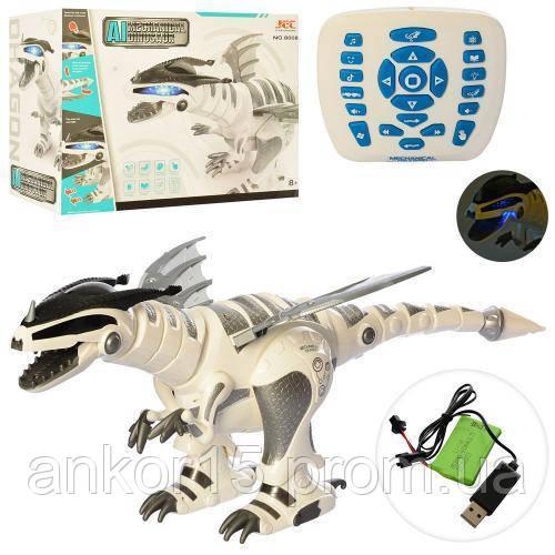 Робот Динозавр 8008, интерактивный на радиоуправлении