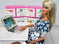 Аксессуары для кукол - ноутбук
