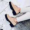 Туфли броги женскиебежевыеэко- замша:)В НАЛИЧИИ ТОЛЬКО 37 39 41р, фото 4