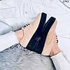Туфли броги женскиебежевыеэко- замша:)В НАЛИЧИИ ТОЛЬКО 37 39 41р, фото 6