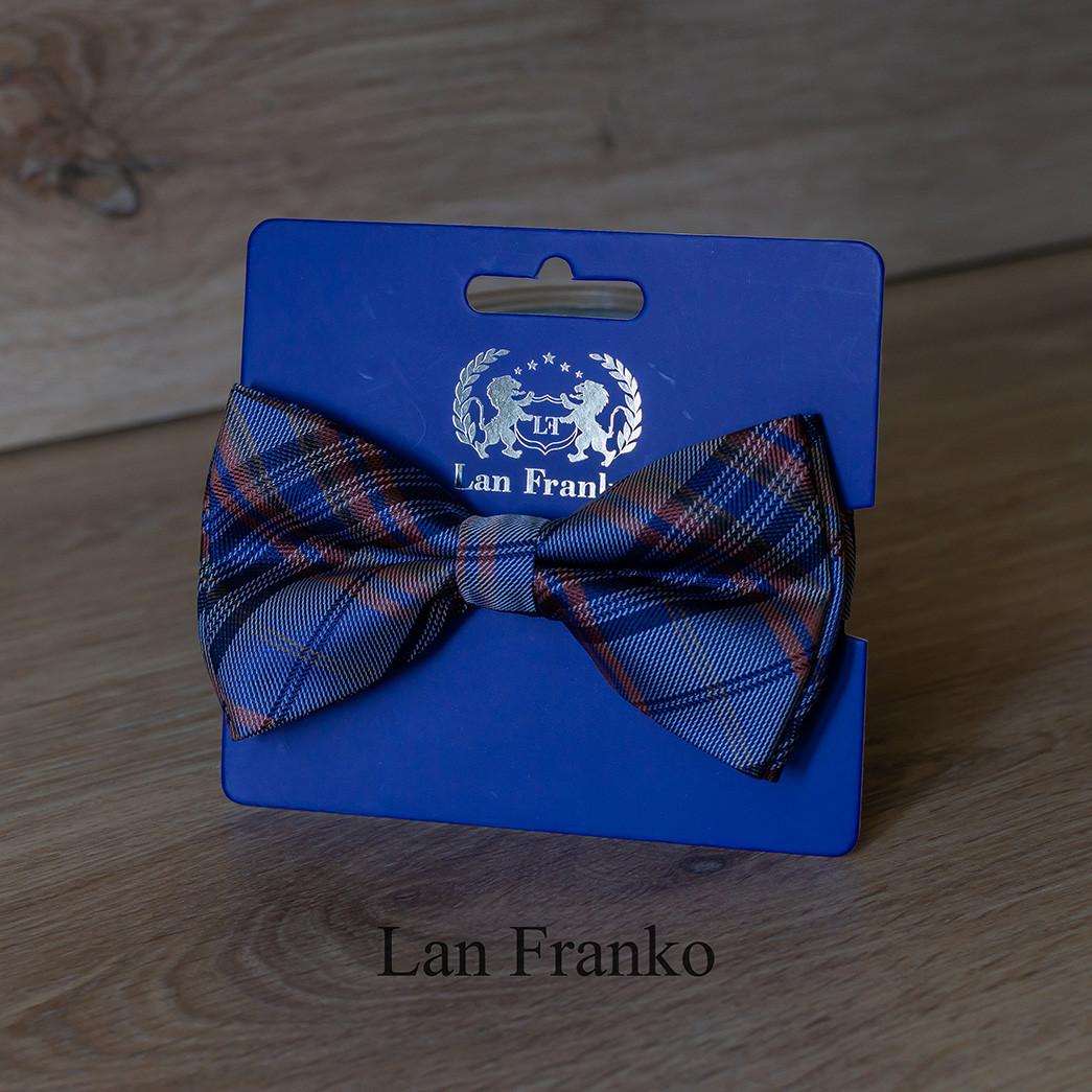 Краватка-метелик комбінована чоловіча з візерунком | LAN FRANKO