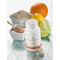 Витамин С с медом,шиповником,апельсином и папайей.Форевер абсорбент С,100 таб.США