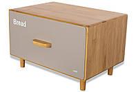 Хлібниця Husla Scandic 36х26 см h23 см бамбук (73933)