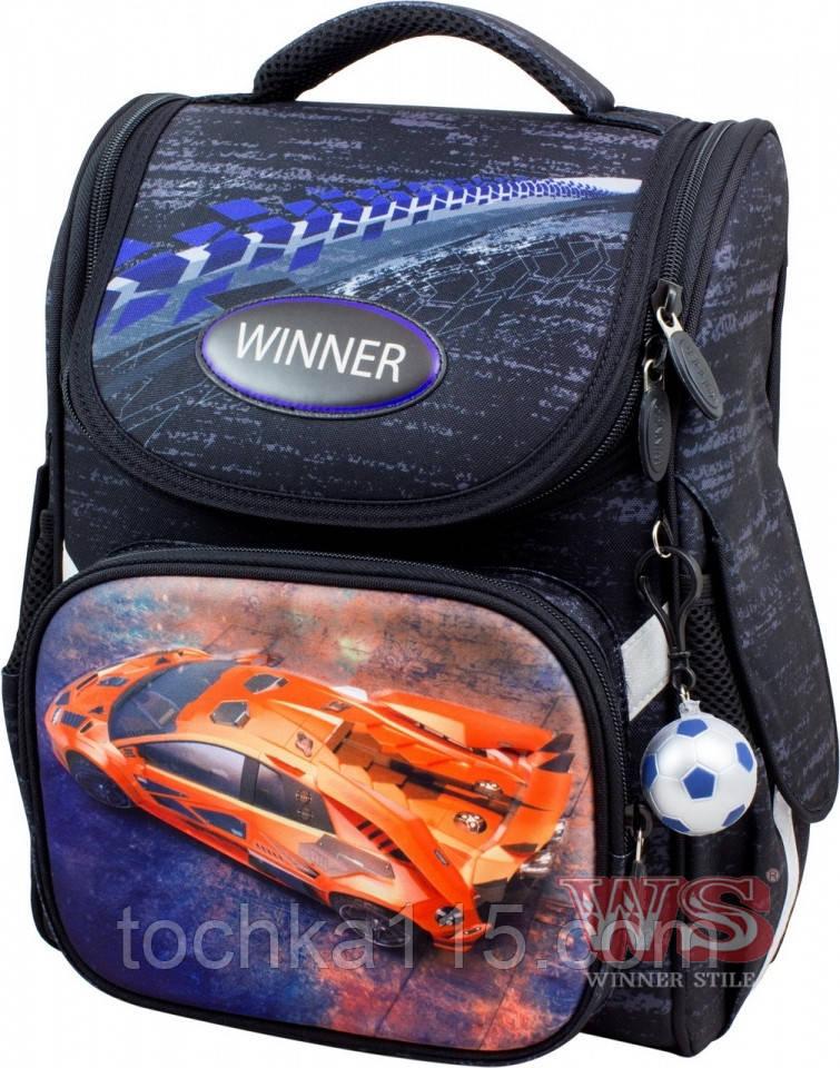 Школьный рюкзак с ортопедической спинкой для мальчика
