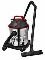 Пылесос промышленный FORTE VC2016S 20л для сухой и влажной уборки (пилосос промисловий, бытовой пылесосы)