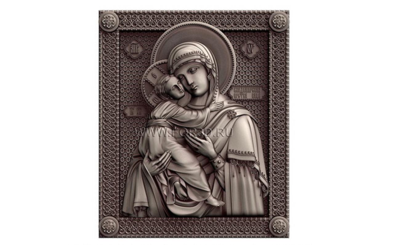 Ікона  Владимирская