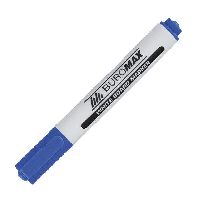 Маркер для магнитных досок BUROMAX, синий