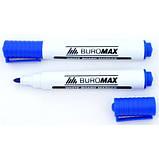 Маркер для магнітних дощок BUROMAX, синій, фото 2