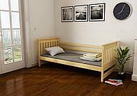 """Кровать детская подростковая """"Адель"""" 80*160 размеры деревянная массив бук"""