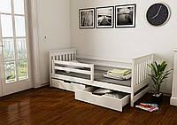 """Кровать детская подростковая """"Адель"""" 80*190 размеры деревянная массив бук"""