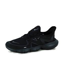 "Мужские кроссовки Nike Free Run 5.0 ""Black""  (люкс копия)"