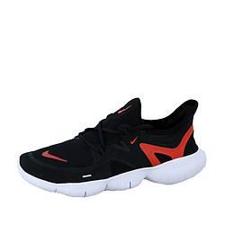 """Мужские кроссовки Nike Free Run 5.0 """"Black/Red""""  (люкс копия)"""