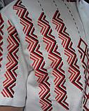 "Мужская летняя вышиванка на короткий рукав ""Асимметрия""., фото 2"