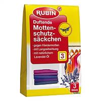 Rubin  Duftende Mottenschutzsäckchen - Против моли защитная сумка Мотылек, 3 шт.
