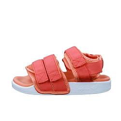 "Женские сандалии Adidas Sandals ""Red""  (люкс копия)"