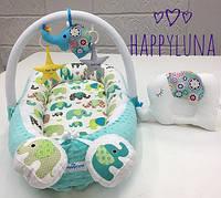 Кокон-гнездышко для новорожденных Happy Luna Слоненок 2