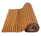 """В пределах отрезка 1,2 м.п. / Бамбуковые обои """"Полосатые 3+1"""", п, 8/8 мм, высота рулона 1,5 м, фото 3"""