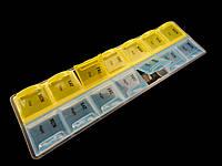 Органайзер-таблетница  для мелочей, на 14 ячеек