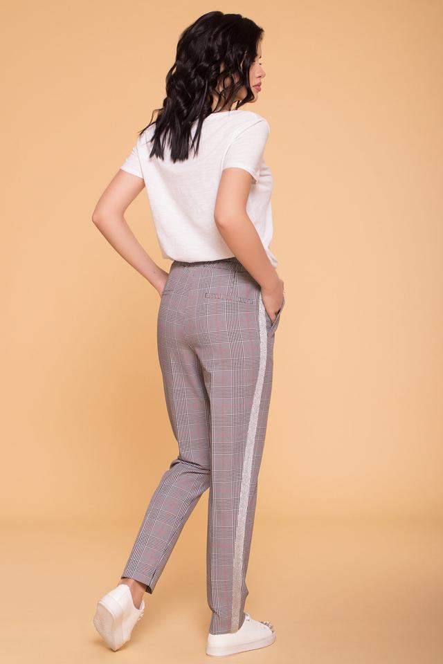 Фото-1 Женских брюк в клетку Джианни