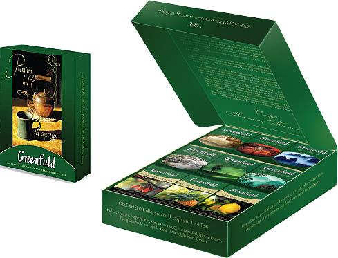 Набор чая Greenfield Premium Leaf Tea Collection (390 г) листовой