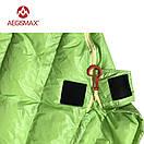 Пуховый спальный мешок AEGISMAX UL-Wing GREEN. +11°C +6°C. 800 FP. Размер  M. Пуховий спальний мішок кокон., фото 8