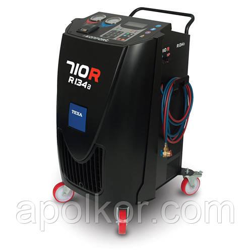 Полуавтоматическая установка для заправки и обслуживания кондиционеров автомобилей KONFORT 710R