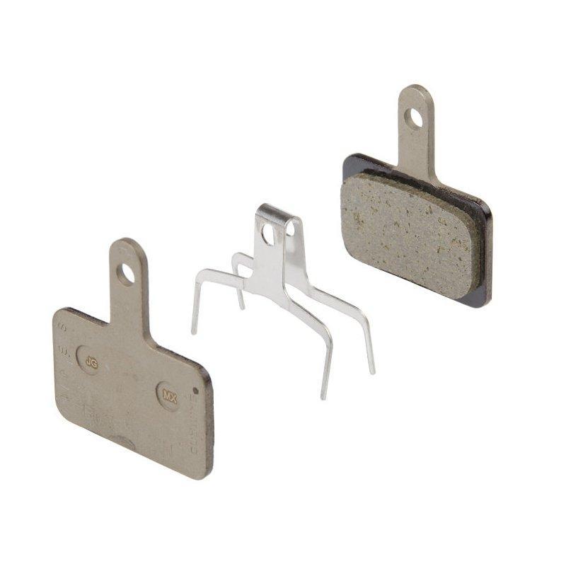 Гальмівні колодки під дискові гальма Shimano B01S, полімер/resin (без упак)