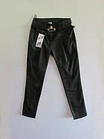 Школьный штаны для девочки с ремнем, упаковка 5 штук, рост от 128 до 152 см