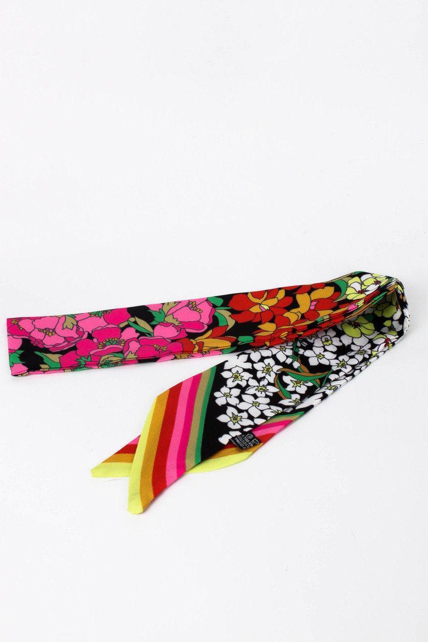 Яркий женский шарфик