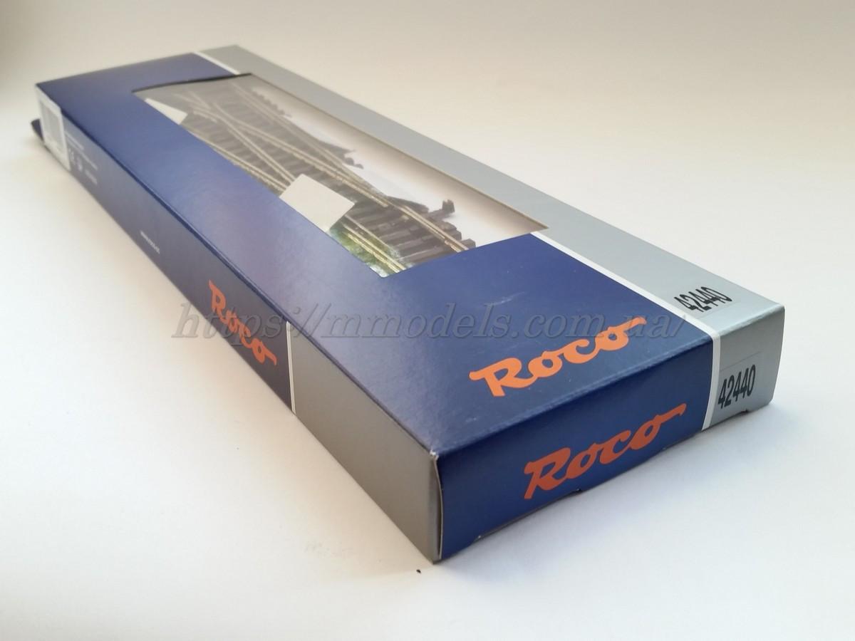 Roco Line 42440 Стрелка левая прямая ручная WL15 / 1:87