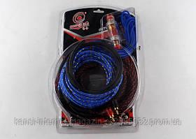 Набір для підключення підсилювача Soundtech BL-361, кабель для підключення сабвуфера, набір кабелів