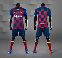 Футбольная форма Барселона сезон 19/20 домашняя (2019/2020)