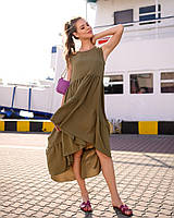 Платье женское расклешенное по 56р  д41321, фото 1
