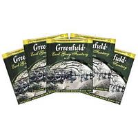 Черный Чай Greenfield Earl Grey ( 100 шт) Бергамот